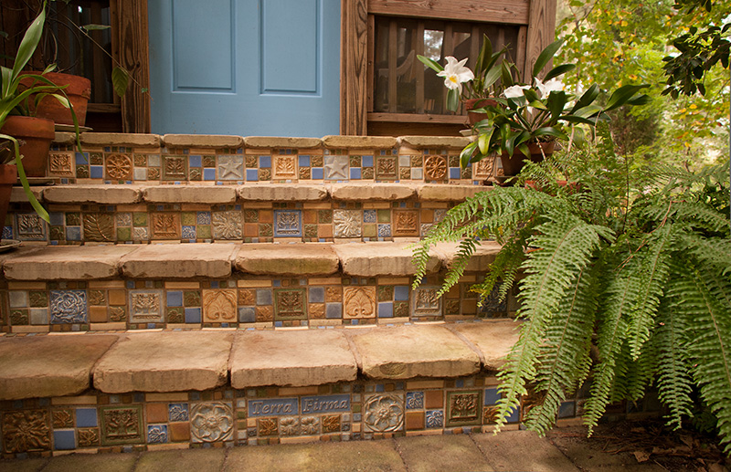 Terra Firma Ltd Handmade Arts and Crafts Tile  Installations