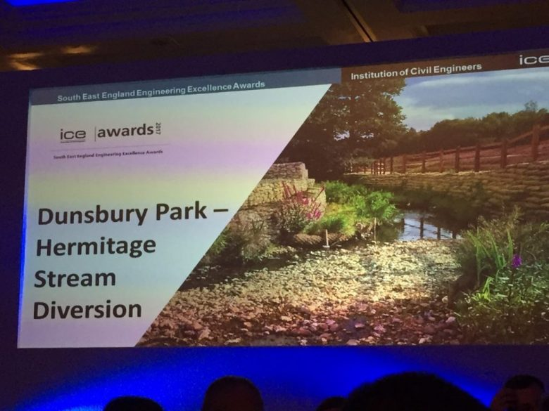 Dunsbury Park short-listed for ICE Sustainability and Resilience Award