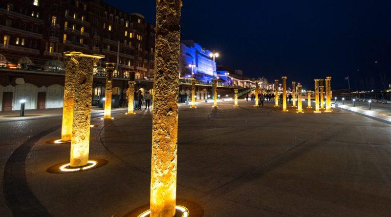 The BA i360 Public Realm plaza