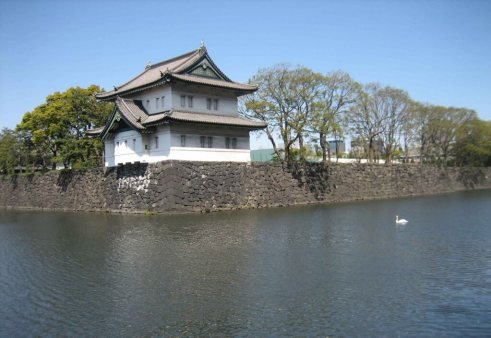 Imperial-Palace-Corner Gatehouse & moat - Tokyo Japan experience