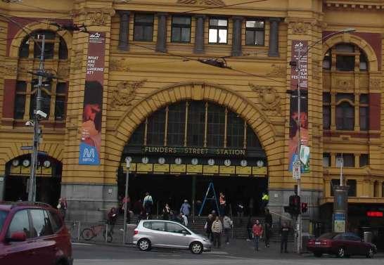 Flinders Street Station Melbourne Central