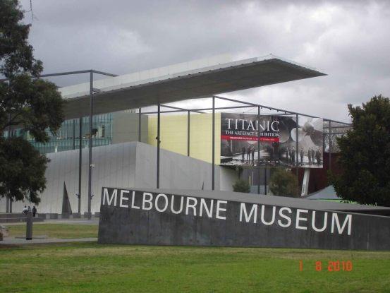Titanic Artefact Exhibition Melbourne City