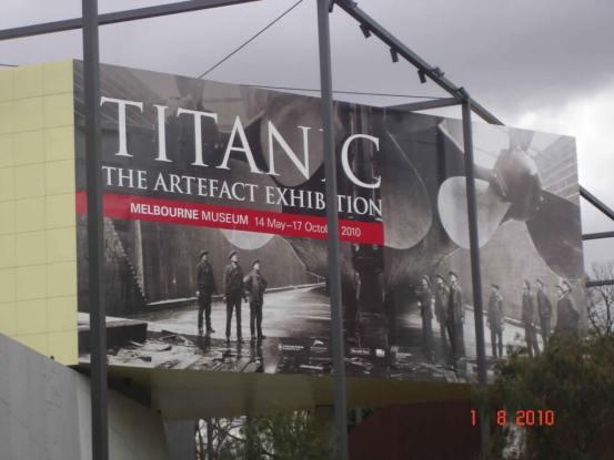 Places to visit Melbourne Museum TITANIC the Artefact Exhibition