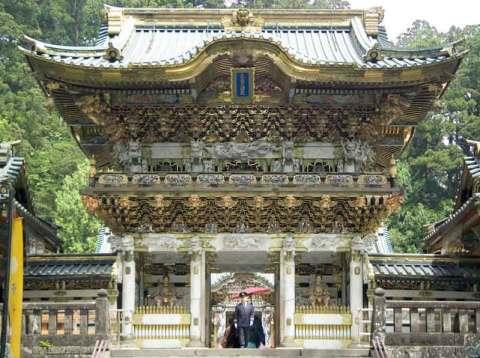 Yomeimon-Gate-Toshogu-Shrine japan tokyo