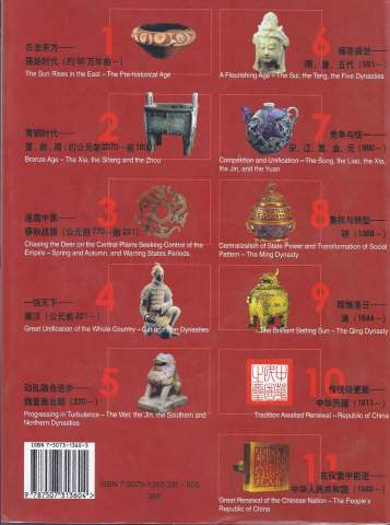 History&CivilizationofChina BackCover