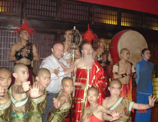 Beijing Red theatre-'The Legend of Kungfu. Meet the cast after the performance