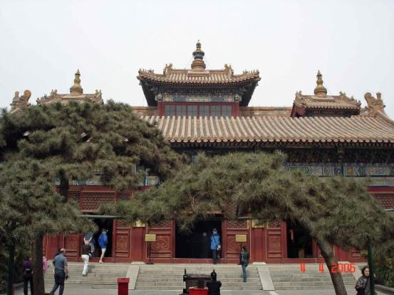 Beijing-Yonghe Lamasery- Hall of Everlasting Protection