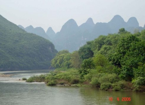 Li-River-&-Karst-Mountains China