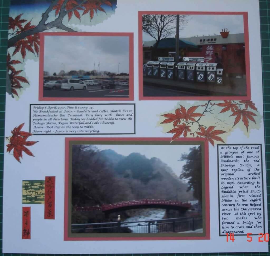 Travel scrapbook ideas - Journaling Ideas For Scrapbook Design Pages