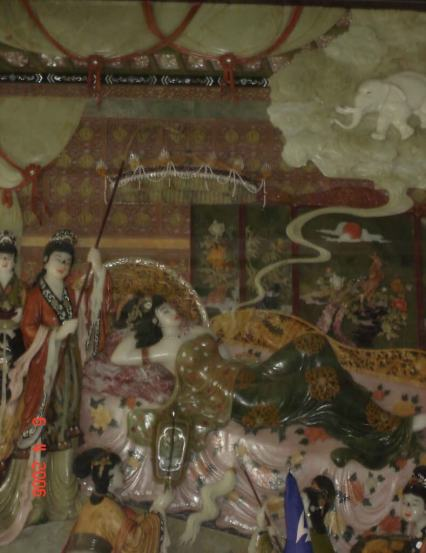 Discover Xian Big Wild-Goose-Pagoda Interior wall in the Hall of Xuanzang