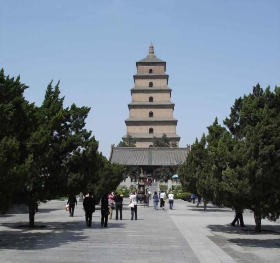 Discover Xian Big Wild Goose Pagoda with Da Ci'en Temple
