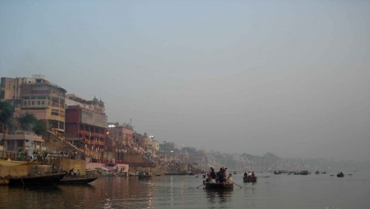 Varanasi- the Ghats-Ganges River. Incredible India