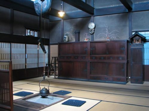 Kusakabe Heritage House-Iron Hearth (Irori)