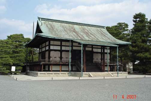 Shunkoden built to house the sacred mirror for the enthronement ceremony 1915