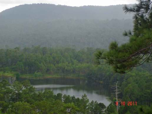 Kirirom National Park-Mountains,Lakes and verdent green Pine Forest