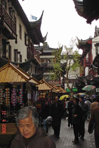 Shanghai Old town Yu Yuan Garden and  Bazaar