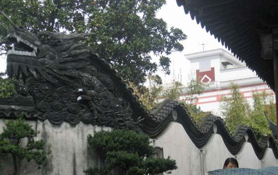 Undulating-Dragon-Wall---Yu Yuan Garden