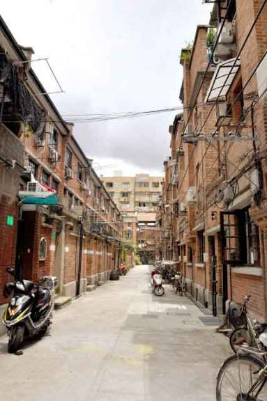 An original Shanghainese long tang a labyrinth of alleys lined with shikumen houses