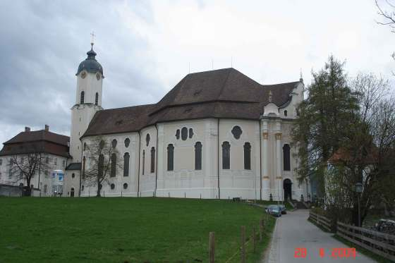 "Wieskirche - Pilgrimage Church of the ""Scourged Savior"""