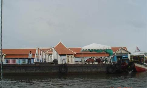 Lake Tonlé sap Wharf at  Siem Reap