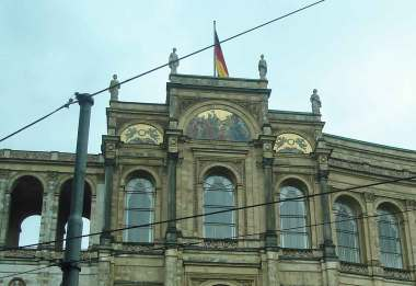 Sightseeing-t he Maximilianeum -Bavarian State Parliament  Mosaics