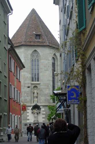 Martyr's of St Stephens church Konstanz-romantic Road Germany