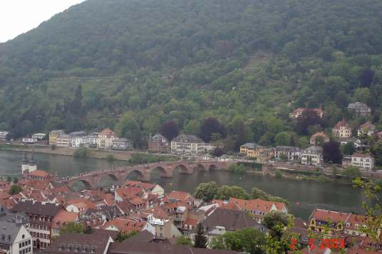 Old Bridge ove rNectar River Heidelberg