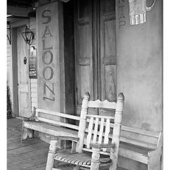 Buy Rocking Chair Most Comfortable Recliner Black And White Picture/photo: On Saloon Porch, Natchez Under-the-hill. ...