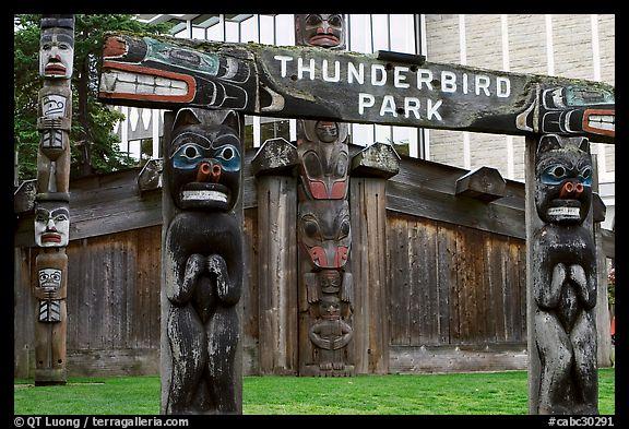 PicturePhoto Thunderbird Park Victoria British