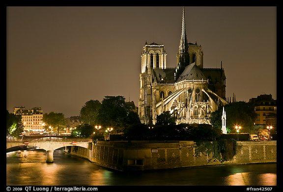 PicturePhoto Ile de la Cite and Notre Dame de Paris rear