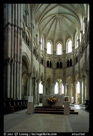 Picture Photo Apse Of The Romanesque Church Of Vezelay