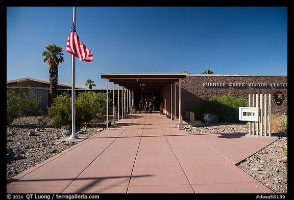 Picture/Photo: Furnace Creek Visitor Center. Death Valley