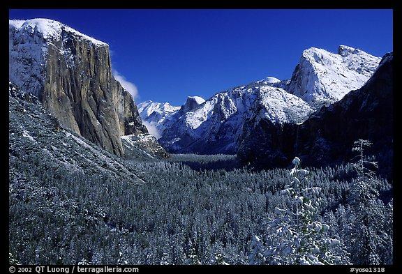Upper Yosemite Falls Wallpaper Picture Photo Yosemite Valley From Tunnel View In Winter