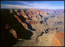 Canyon View from South Rim. Grand Canyon National Park ( color)