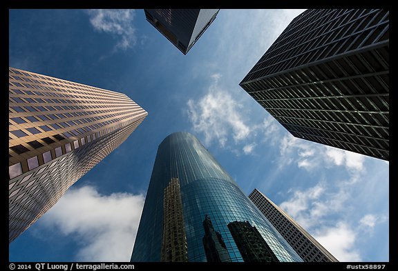 Iphone 5 Wallpaper Photography Picture Photo Looking Up Skyline District High Rises