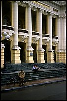 Opera House.  The city is now a remarkable fading poscard of colonial architecture. Hanoi, Vietnam