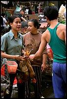 Market scene. Hanoi, Vietnam