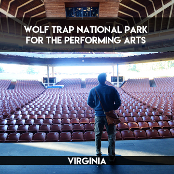 Wolf Trap National Park for the Performing Arts    TERRAGOES.COM