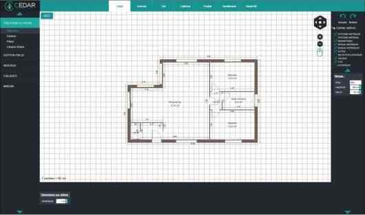 cedar architect modèle plan