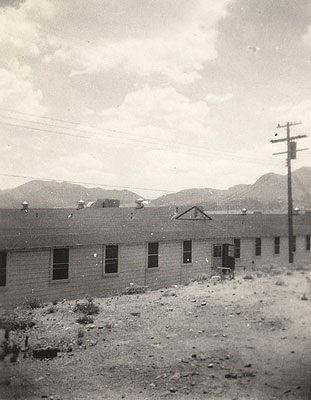 Barracks for African-American Medical Staff, Fort Huachuca, 1944 or 1945