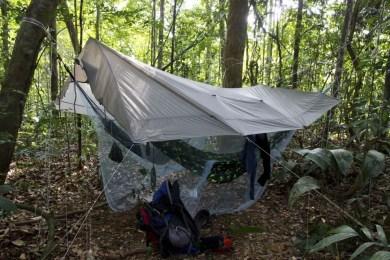 Hammock and Tarp Camp