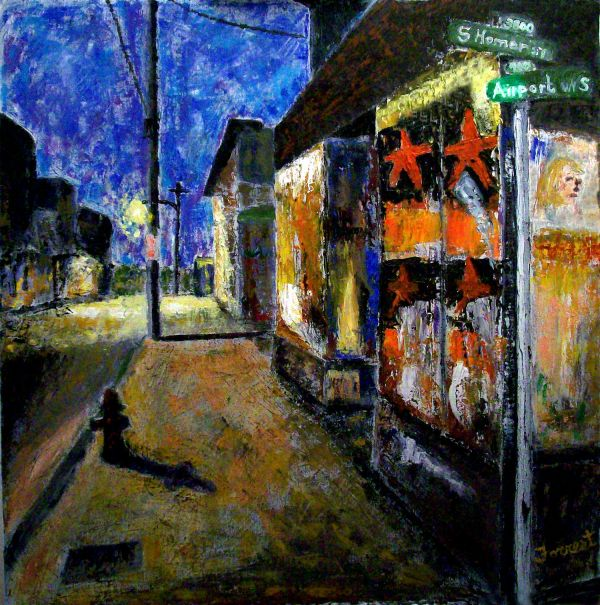 Seattle Blues Paintings Allen Forrest