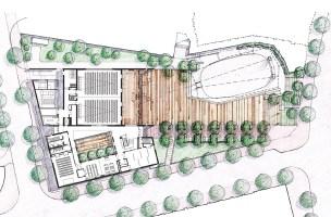 Veterans' Plaza Site Plan