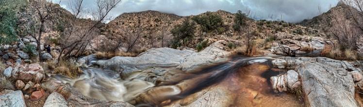 Romero Stream after Rain, Catalina State Park, Arizona, 2013