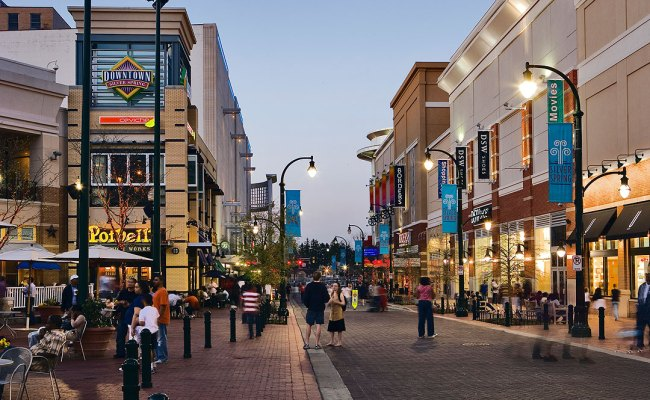 Downtown Silver Spring Maryland Terrain Org A Journal