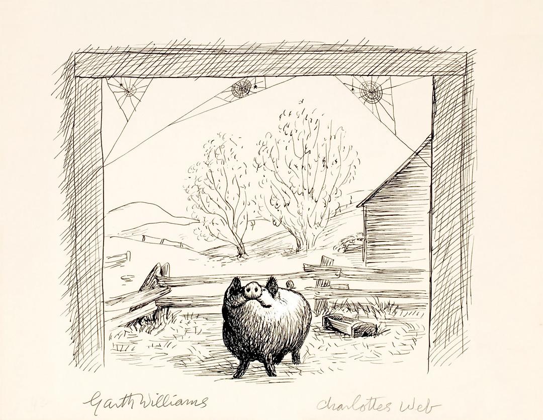 Wilbur illustration by Garth Williams