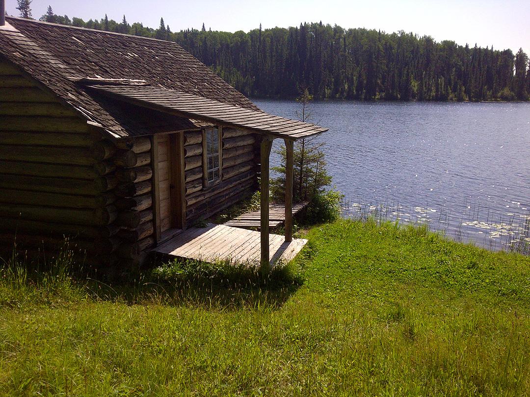 Grey Owl's cabin.