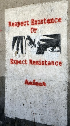 Respect Existance or Expect Resistance