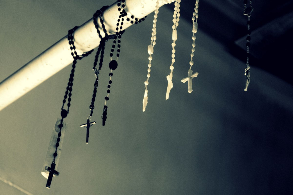 Rosarie beads.