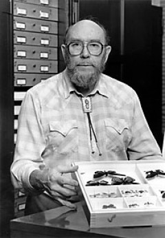 Charles Remington, the Yale University professor and lepidopterist who was the great mentor in Robert Michael Pyle's life. Photo courtesy Wikipedia.